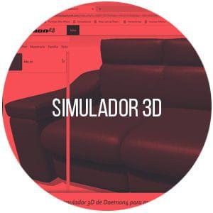 Simulador 3D para tiendas de muebles
