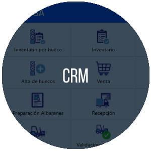 CRM Gestión de clientes Multiplo ERP