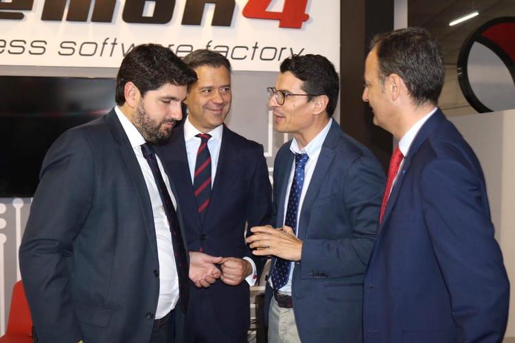 Daemon4 feria del mueble Yecla alcalde Marcos Ortuño presidente Región Murcia Lopez Miras