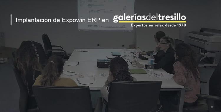 Implantación de Expowin ERP en Galerías del Tresillo