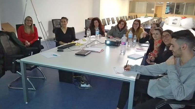 Formación del equipo de Galerías del Tresillo en Expowin ERP