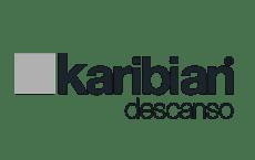 Logotipo Karibian descanso