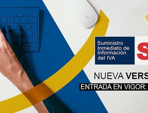 Cambios en el SII (Suministro Inmediato de Información del IVA)