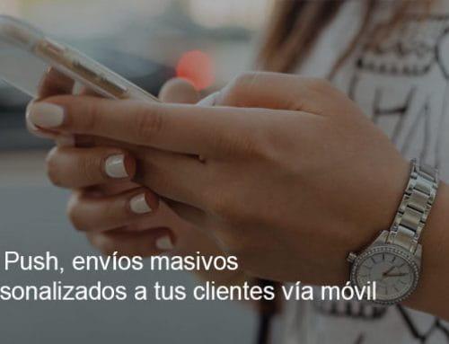 SMS Push, avisos masivos a clientes vía móvil