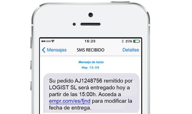 SMS push envíos masivos para empresas