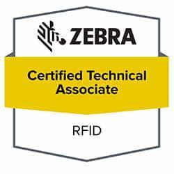 certificados RFID Zebra empresa autorizada
