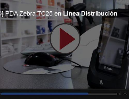 [VÍDEO] Utilizando las PDA Zebra TC25 en Línea Distribución