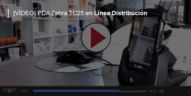 Zebra TC25 Línea Distribución