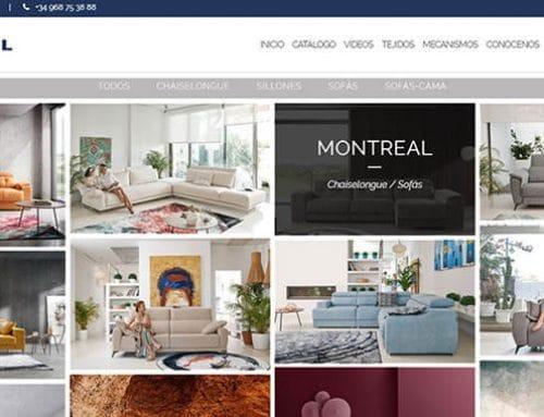 Diseño de la nueva web corporativa de Acomodel
