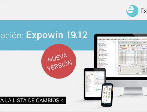 Conoce la última versión: Expowin 19.12