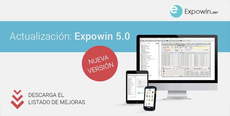 Actualización: Expowin 5.0. Mejoras en la nueva versión
