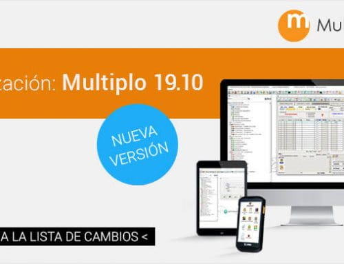 Actualizamos versión: Multiplo ERP 19.10