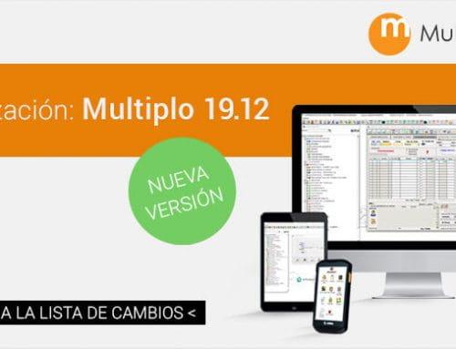 Actualizamos versión: Multiplo ERP 19.12