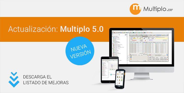 Descarga la lista de cambios del nuevo Multiplo 5.0