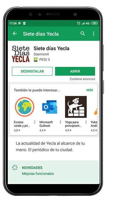 Nueva app Siete Días Yecla