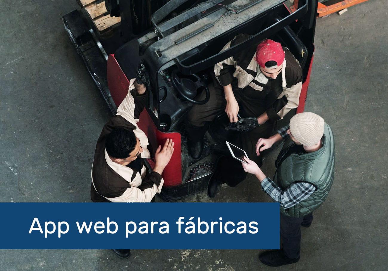 app web para fábricas