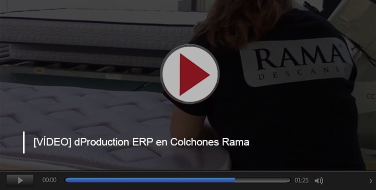 Colchones Rama dProduction ERP