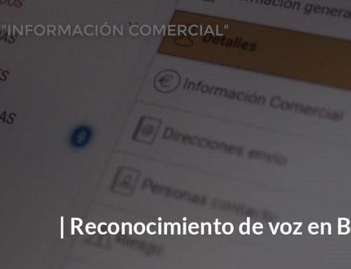 Sistema de reconocimiento de voz en plataformas B2B
