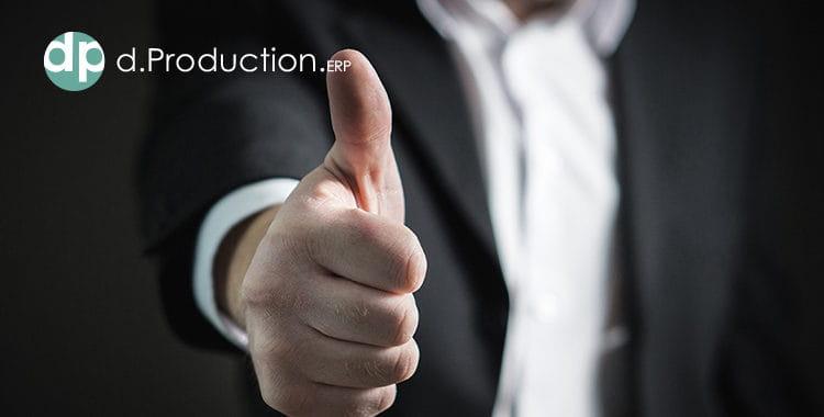 dProduction nueva versión ERP para fabricantes