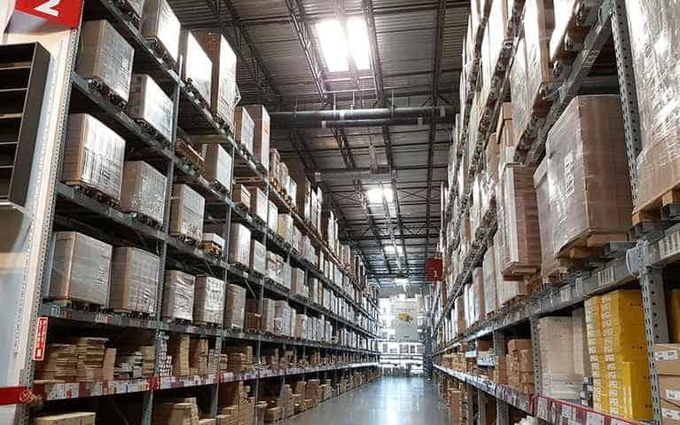 gestión de almacenes y logística