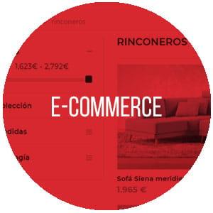 Ecommerce tienda online muebles