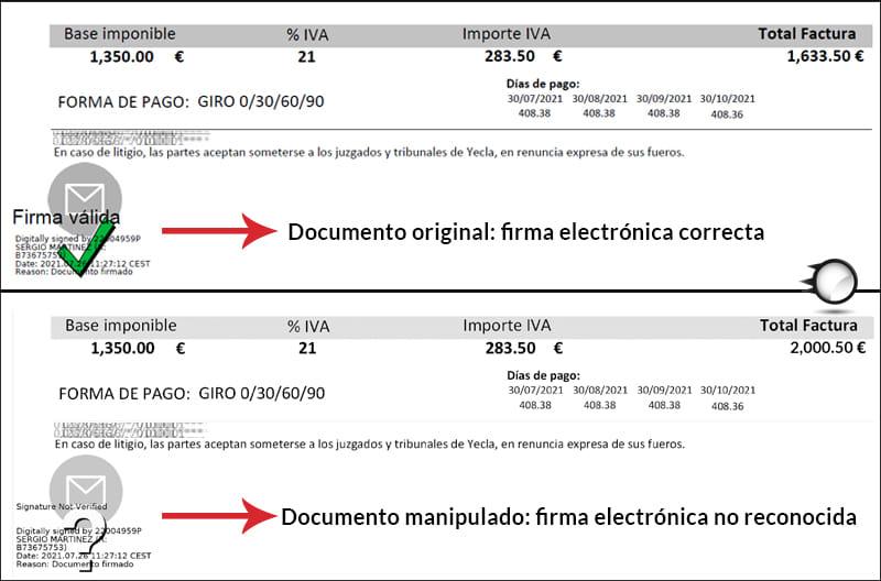 factura electrónica