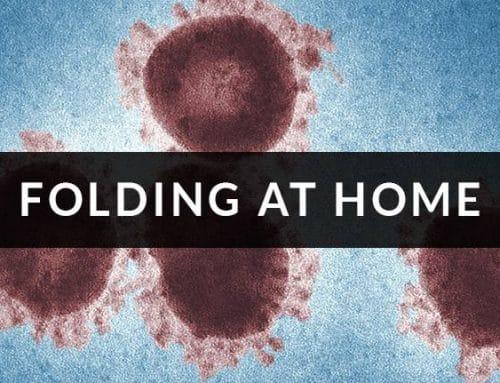 Nos sumamos a la lucha frente al Covid19 con Folding at Home