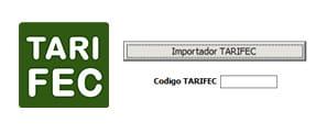 Módulo de integración con Tarifec