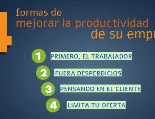 4 claves para aumentar la productividad de su empresa