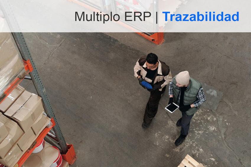 módulo trazabilidad para software Múltiplo ERP