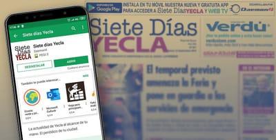 Siete Días Yecla presenta su nueva app para el móvil