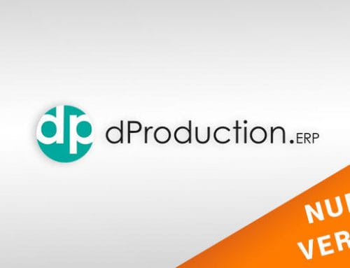 Ya disponible la última versión de dProduction ERP