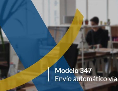 Envía fácilmente el Modelo 347 con Contadoc