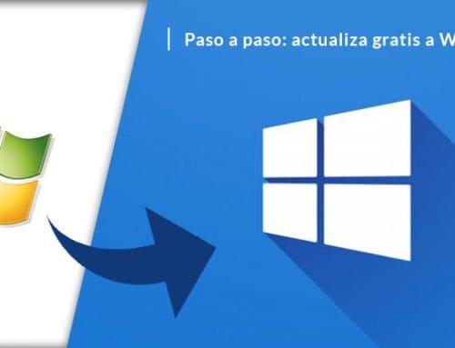 Actualizar gratis Windows 7 a Windows 10